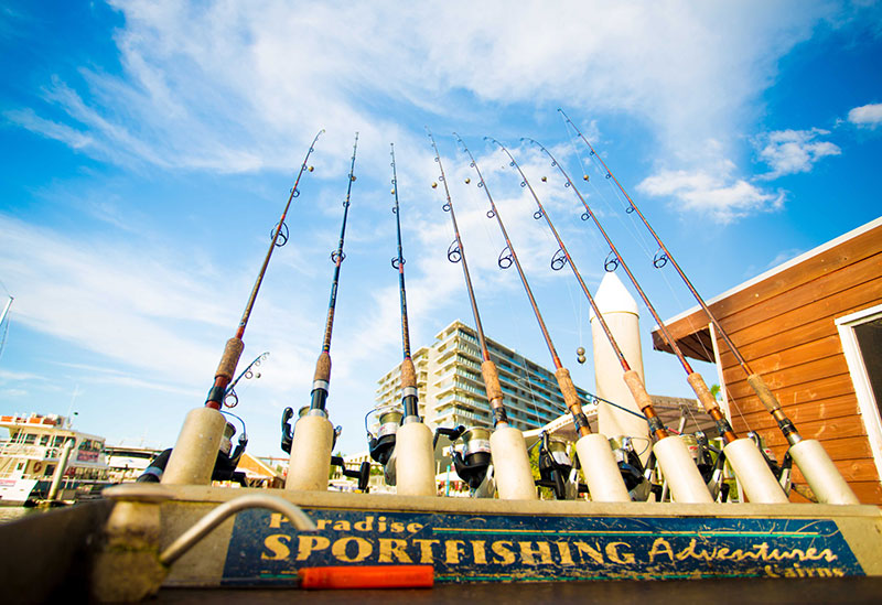 Set to go Fishing