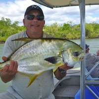 Charter Fishing Golden Trevally
