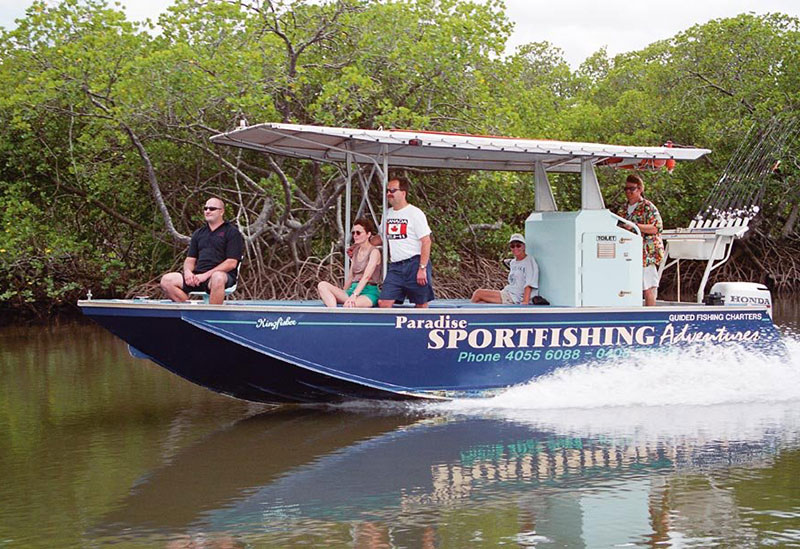 Cairns Fishing Charter Paradise Sportfis