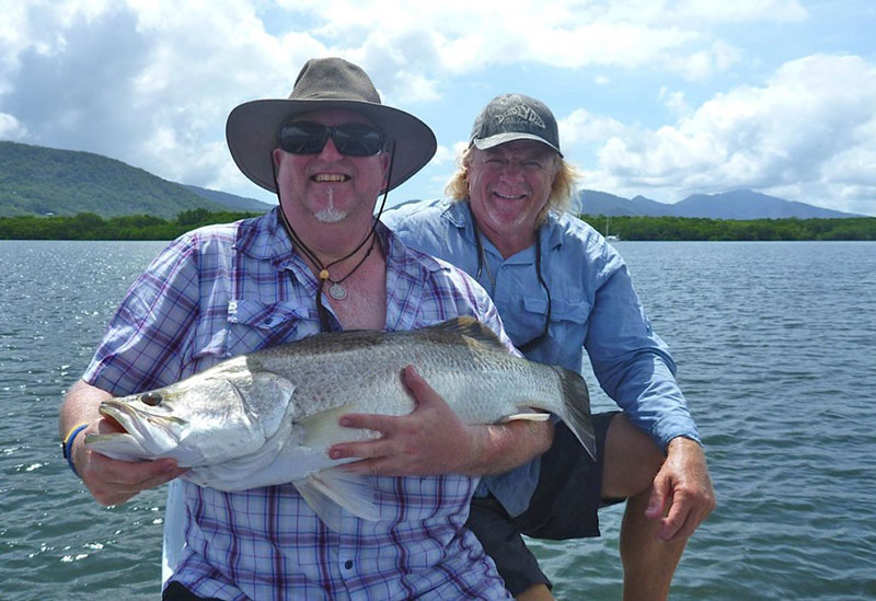 Cairns Charter Fishing Barramundi