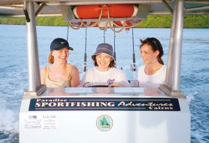 Smiles on a fishing charter